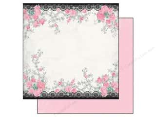 Flowers inches: Authentique 12 x 12 in. Paper Classique Pretty Collection Luxe (25 pieces)