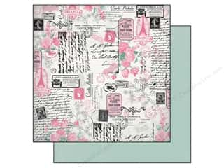Flowers inches: Authentique 12 x 12 in. Paper Classique Pretty Collection Collected (25 pieces)