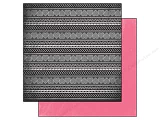 Hearts inches: Authentique 12 x 12 in. Paper Classique Pretty Collection Cute (25 pieces)