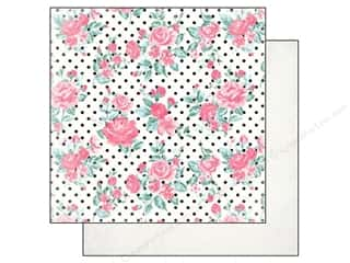 Authentique 12 x 12 in. Paper Classique Pretty Rosette (25 piece)