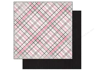 Cards inches: Authentique 12 x 12 in. Paper Classique Pretty Collection Tartan (25 pieces)