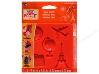 Vacations Craft & Hobbies: Plaid Mod Podge Tools Mod Mold Travel