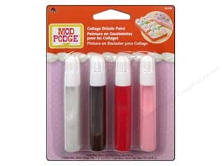 Plaid Mod Podge Tools Drizzle Paint 4pc