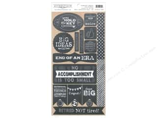 Authentique 6 x 12 in. Die Cut Accomplished Components (12 set)