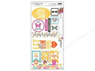 Father's Day Authentique Die Cuts: Authentique 6 x 12 in. Die Cut Radiant Components (12 sets)