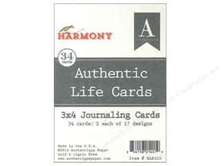 Authentique Authentic Life Cards 34 pc. Harmony