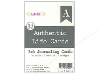 Authentique Authentic Life Cards 34 pc. Radiant