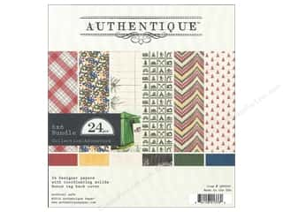 Authentique 6 x 6 in. Paper Bundle Adventure 24 pc.