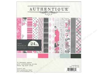Authentique 6 x 6 in. Paper Bundle Classique Pretty 24 pc.