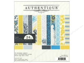 Authentique 6 x 6 in. Paper Bundle Favorite 24 pc.