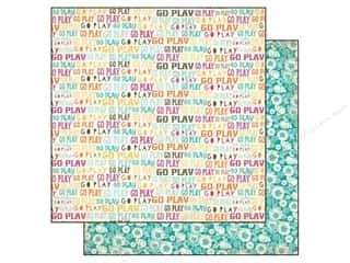 Flowers inches: Authentique 12 x 12 in. Paper Radiant Collection Playful (25 pieces)