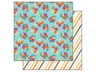 Flowers inches: Authentique 12 x 12 in. Paper Radiant Collection Glorious (25 pieces)