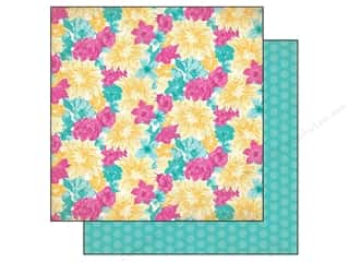 Flowers inches: Authentique 12 x 12 in. Paper Radiant Collection Smiling (25 pieces)