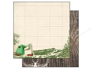 Outdoors inches: Authentique 12 x 12 in. Paper Adventure Collection Scenic (25 pieces)