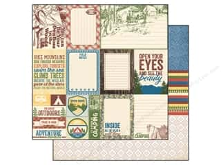 Outdoors inches: Authentique 12 x 12 in. Paper Adventure Collection Enhancements (25 pieces)