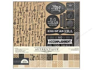 Authentique Collection Kit 12 x 12 in. Accomplished