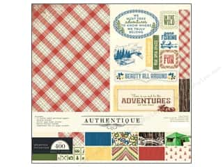 Authentique Collection Kit 12 x 12 in. Adventure