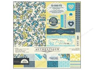 This & That Authentique Collection Kits: Authentique Collection Kit 12 x 12 in. Favorite