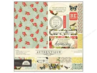 Authentique Collection Kit 12 x 12 in. Harmony