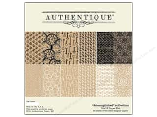 Authentique Paper Pad 12 x 12 in. Accomplished