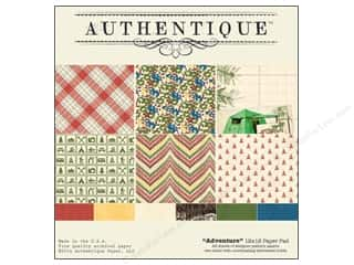 coordination burgundy: Authentique Paper Pad 12 x 12 in. Adventure