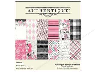 Authentique Paper Pad 12 x 12 in. Classique Pretty