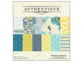 Authentique Paper Pad 12 x 12 in. Favorite