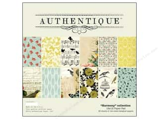 Authentique Animals: Authentique Paper Pad 12 x 12 in. Harmony
