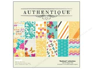 Authentique Paper Pad 12 x 12 in. Radiant