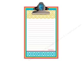 Lily McGee Green: Lily McGee Note Pad Jeweled Clipboard Geometrics