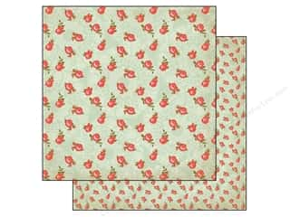 Flowers inches: Authentique 12 x 12 in. Paper Harmony Collection Vitality (25 pieces)
