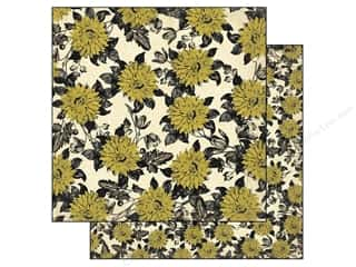 Flowers inches: Authentique 12 x 12 in. Paper Harmony Collection Botanic (25 pieces)