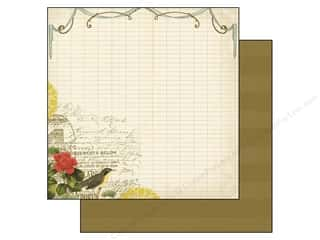 Flowers inches: Authentique 12 x 12 in. Paper Harmony Collection Spirit (25 pieces)