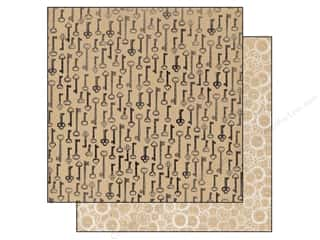Authentique Authentique 12 x 12 inch Paper: Authentique 12 x 12 in. Paper Accomplished Collection Passkey (25 pieces)