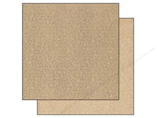 Authentique Authentique 12 x 12 inch Paper: Authentique 12 x 12 in. Paper Accomplished Collection Scribe (25 pieces)