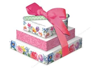 Gifts Pads: Lily McGee Note Pad Tower Of Notes With Pen Floral