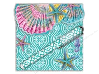 Magnets Beach & Nautical: Lily McGee Note Pad Matchbook Pad With Pen Splash