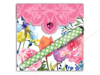 Lily McGee: Lily McGee Note Pad Matchbook Pad With Pen Flora