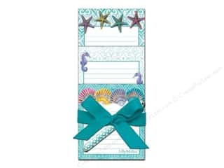 Lily McGee: Lily McGee Note Pad Tri With Pen Splash