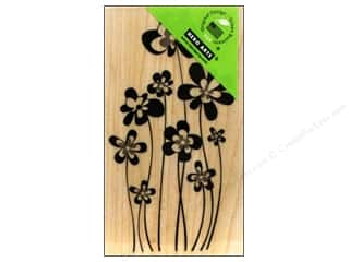 Rubber Stamping: Hero Arts Rubber Stamp Jumping Flowers