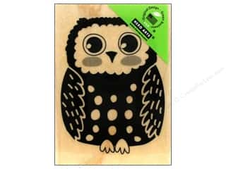 Rubber Stamping: Hero Arts Rubber Stamp Circle Owl