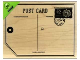 Rubber Stamping: Hero Arts Rubber Stamp Big Post Card
