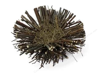 "Midwest Design Bird Nest 6"" Twig/Grass Natural 1pc (3 piece)"