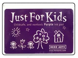 Stamping Ink Pads Ink, Ink Pads & Brayers: Hero Arts Just For Kids Ink Pad Purple