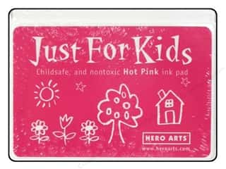 Stamping Ink Pads Kid Crafts: Hero Arts Just For Kids Ink Pad Hot Pink