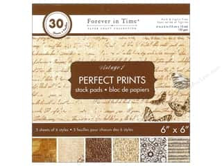 Multicraft Stack Pad 6x6 Perfect Prints Vintage 1