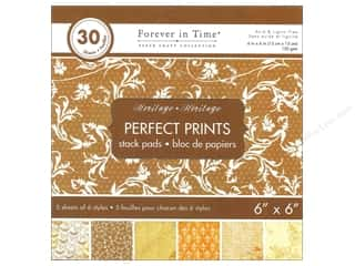 "Heritage Crafts $5 - $6: Multicraft Stack Pad 6""x 6"" Perfect Prints Heritage"