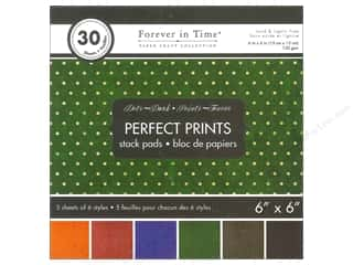 Multicraft Stack Pad 6x6 Perfect Prints Dots Dark