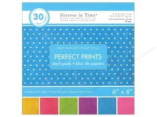 Multicraft Stack Pad 6x6 Perfect Prints Dots Vivid