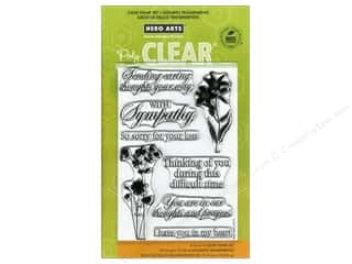 Hero Arts Poly Clear Stamp Set With Sympathy
